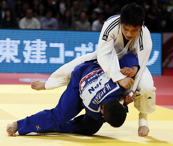 在日3世の安昌林が銀メダル…柔道「グランドスラム東京」